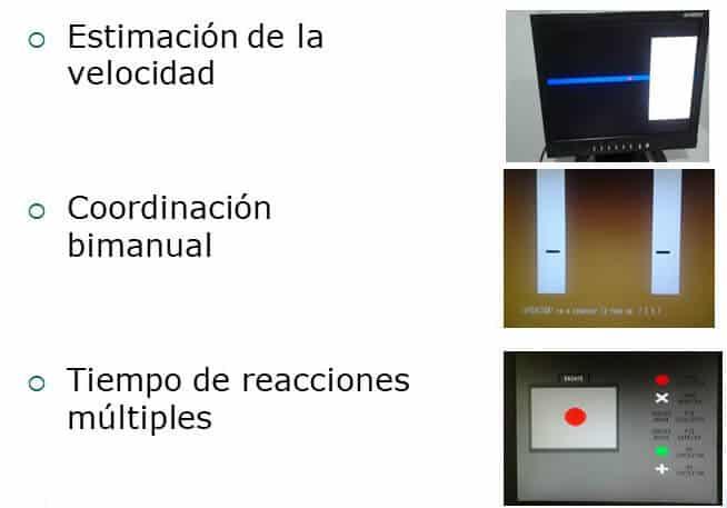 polirreactímetro Centro Reconocimiento